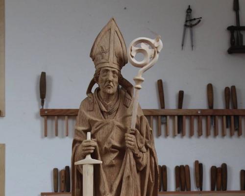 Heiliger Kilian (Riemenschneider Kopie) 2015